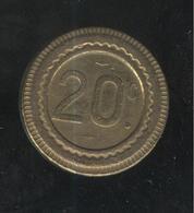 Jeton 20 C - Escargot - Professionnels / De Société