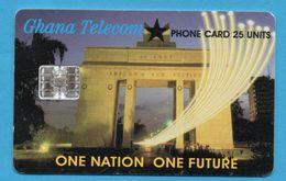 GHANA  Chip Phonecard - Ghana