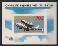 Mali - 1981 - Bloc BF N°Yv. 16 - Space Shuttle - Epreuve De Luxe - Neuf Luxe ** / MNH / Postfrisch - Afrika