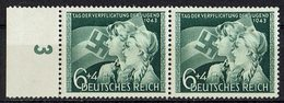 DR 1943 // Mi. 843 ** Paar - Deutschland