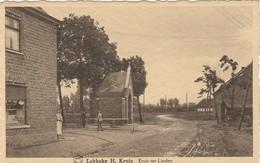 Lebbeke, H. Kruis ,Kruis Ter Linden, 2 Scans - Lebbeke