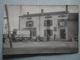 ENTREPOT DES GRANDES BIERES DE CHAMPIGNEULLES CAMION DE LIVRAISON PIENNES OU JARNY CARTE PHOTO - Jarny