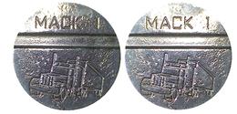01338 GETTONE TOKEN JETON AUTOMATIC MACHINE TRUCK MACK1 - Estados Unidos