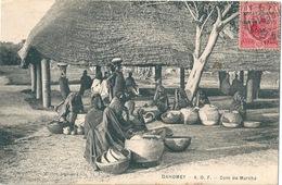 DAHOMEY Lot De 2 Cartes TP Surchargés Togo Anglo-French Occupation - Dahomey