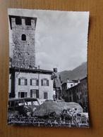 Italy / Lago D'Iseo - Pisogne, Monumento A S Costanzo Martire (met Volkswagen) Written - Brescia