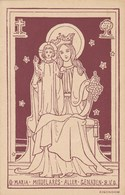 O Maria Middelares Aller Genaden, B.V.O.  (pk60645) - Vierge Marie & Madones