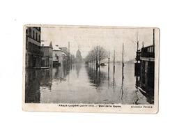 Paris Inondé Quai De La Rapée - Inondations De 1910