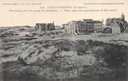 Oostduinkerke, Panorama Pris Du Poste Du Belvédère - Oorlog 1914-18