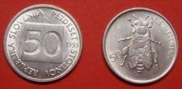 SLOVENIA   - 50 Stotinov  1993 UNC - Slovenia