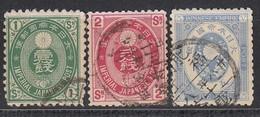 JAPAN 1883 - MiNr: 57-59 Komplett Used - Japan