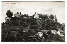 Daun - Burg Von Osten - 1909 - Verlag Franz Häussler - 2 Scans - Daun