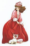 """MARQUE PAGES Détouré """" Élisabeth, Princesse A Versailles """" ALBIN MICHEL JEUNESSE - Marque-Pages"""