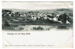 Lissingen Mit Der Burg - Eifel - 1909 - Verlag Von M. Hopmann - 2 Scans - Gerolstein