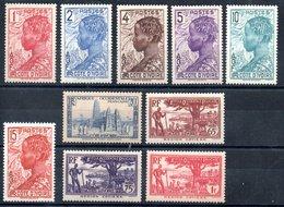 Côte D'Ivoire Elfenbeinküste Y&T 109** - 115**, 121*, 122*, 124A*, 125**, 126*, 127**, 127A**, 128* - 132* - Ungebraucht