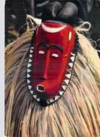 Afrique-(Côte D'Ivoire) Masque Africain African Mask Baoulé (C) (ethnie Ethnique - Editions : Hoa Qui 3719) *PRIX FIXE - Elfenbeinküste