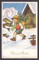 96874/ NOUVEL AN, Enfant, Garçonnet, Illustrateur MAPI - Nouvel An