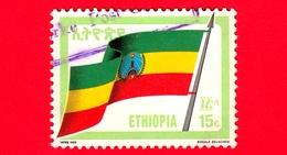 ETIOPIA - Usato - 1990 (1989) - BANDIERA - Revolutionary Flag - 15 C - Ethiopië