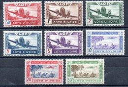 Côte D'Ivoire Elfenbeinküste Luftpost Y&T PA 10** - PA 17** - Elfenbeinküste (1892-1944)