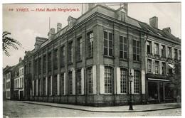 Ypres - Ieper - Hôtel Musée Merghelynck - Edit. Th. Van Den Heuvel - 2 Scans - Ieper