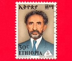 ETIOPIA - Usato - 1973 - Imperatore Haile Selassie - 30 - Etiopia