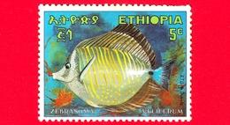 Nuovo - MNH - ETIOPIA - 1970 - Pesce Dal Mar Rosso - Sailfin Tang (Zebrasoma Veliferum) - 5 - Etiopia