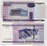 BELARUS       5000 Rublej       P-29b       2000 (2011)       UNC - Bielorussia