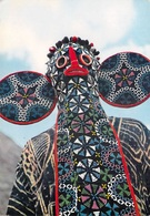 Afrique  MASQUE AFRICAIN AFRICAN MASK Bamiléké (Ethnie Peuple Cameroun?) Editions : HOA-QUI N°3720*PRIX FIXE - Kamerun