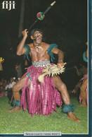 """Large Format Fiji Fijian Spear Dance (""""Meke Wesi"""") - Fiji"""