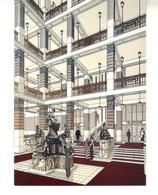 CPM  . Architecte OTTO WAGNER.  (1841 - 1918). Entwurf-Vestibül Kaiser Franz Josef Stadtmuseum Auf Der Schmelz - Wien Mitte