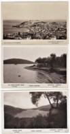6 CPA Photos Argentiques. Divers Vues De Grèce Villages Et Mer. Edit: Photo-électrique - Griekenland