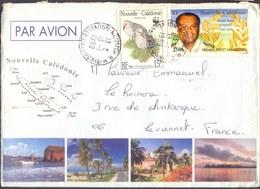 NEW  CALEDONIA - IEKAWE  PERFET  MELANESIEN - Airmail - 1999 - Nueva Caledonia