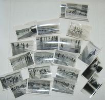 Lot De + De 20 Photos De Gosses En Baignade  Le Centre    Aout 1949 - Krieg, Militär