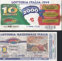 BIGLIETTO LOTTERIA ITALIA 1996. - Biglietti Della Lotteria