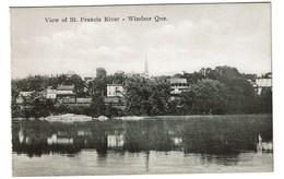 View Of St. Francis River / Rivière Saint-François - Windsor - Estrie - Québec - Edit./Publ. Int. Fine Art Co. Ltd. - Quebec