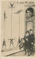 CPA Circus E. And M. John Zircus Cirque 1910s - Circus