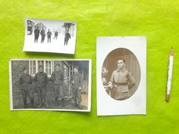 Lot De Photos De Militaires (150 Pour Le Portrait Seul) - Militair