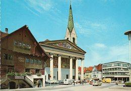 Dornbirn - Marktplatz Und Rotes Haus - Dornbirn