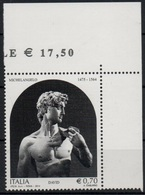 Italia - Repubblica 2014 - 450º Anniversario Della Morte Di Michelangelo €. 0,70, Nuovo - 6. 1946-.. República