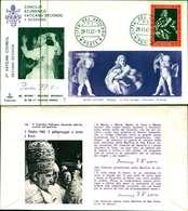 12091a)F.D.C.serie Concilio Ecunemico Vaticano II- 29-11-63 SESSIONE II - FDC