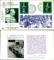 12093a)F.D.C.serie Concilio Ecunemico Vaticano II- 12-11-63 SESSIONE II-PAOLO VI - FDC