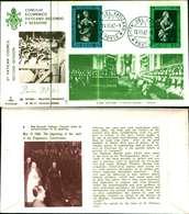12094a)F.D.C.serie Concilio Ecunemico Vaticano II- 14-11-63 SESSIONE II-PAOLO VI - FDC