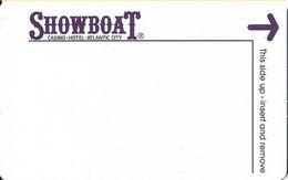 Showboat Casino - Atlantic City NJ - Hotel Room Key Card - Hotel Keycards