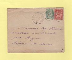Convoyeur Moulins A Macon - 6 Dec 1902 - Storia Postale