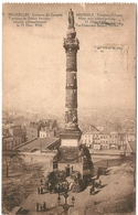 B4455 Belgium Postcard 1925 Art Sculpture Monument Military Postal Used - Monuments