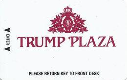 Trump Plaza Casino - Atlantic City NJ - Hotel Room Key Card With Innovative Manufacturer Mark - Hotel Keycards