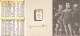 CALENDARIETTO 1962. - Calendari