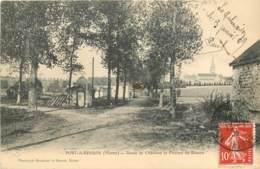 51 - PORT A BINSON - Route De Chatillon En 1909 - France