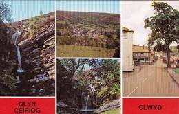 AK Clwyd - Glyn Ceiriog - General View - Ceiriog Falls - The Cross (41648) - Denbighshire