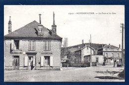 88. Moyenmoutier. La Poste, La Caisse Nationale D'Epargne Et La Gare. - France