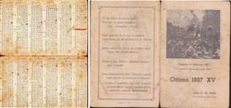 CALENDARIETTO 1937. - Calendari